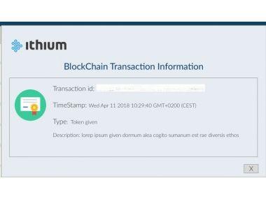 Start-up of Ithium 1001