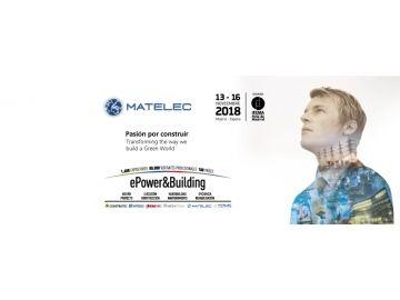 Participamos en el MATELEC 2018