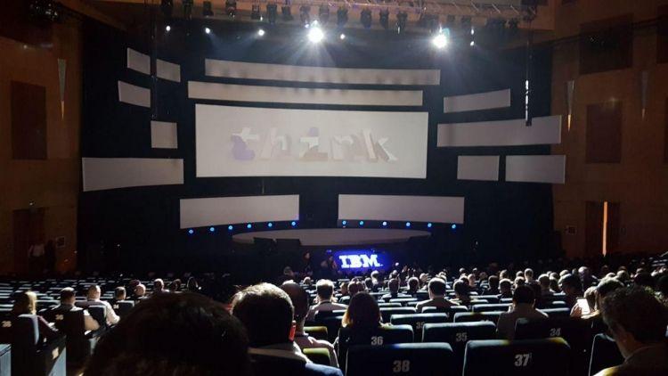 IBM Madrid Think event
