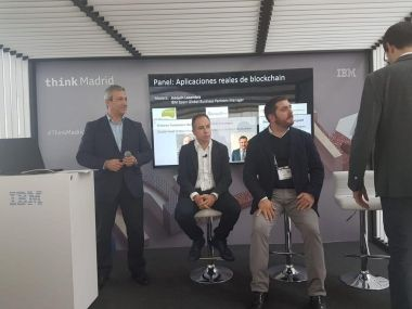 IBM Madrid Think event
