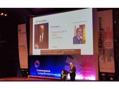 Asistimos al congreso mundial de blockchain en Málaga
