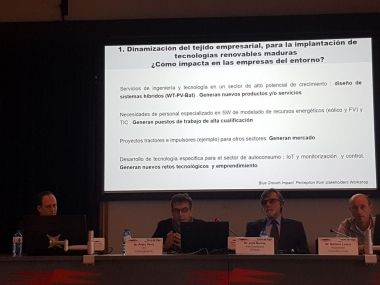 Ithium presente en la jornada de las FAO